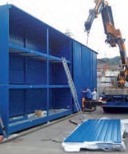 Un almacén para productos peligrosos en Suiza