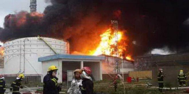 Accidente químico en China