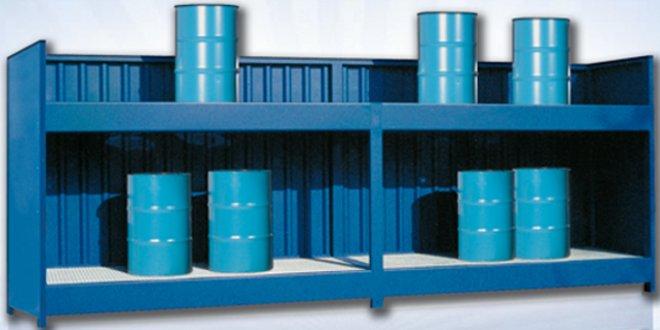 Depósitos y contenedores para almacenar sustancias peligrosas