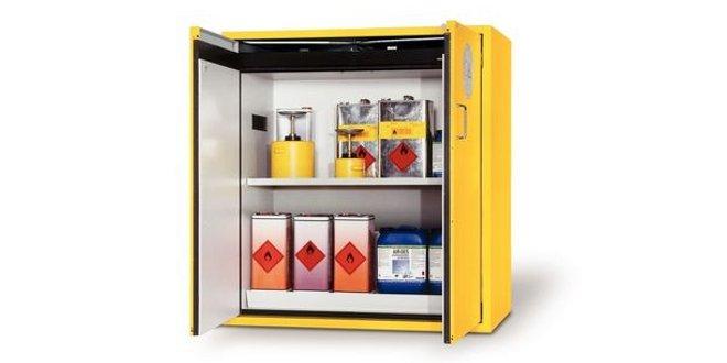 Optimiza el trabajo con los armarios de seguridad de DENIOS