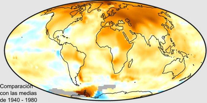 El gráfico de la ONU desde el 2000 sobre el calentamiento global no tiene precedentes