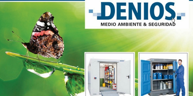 Catálogo 2014 de DENIOS: Almacenamiento de sustancias peligrosas