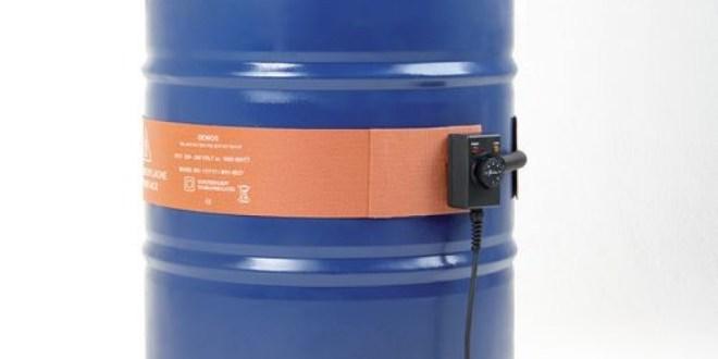 Cinturón calefactor para bidones