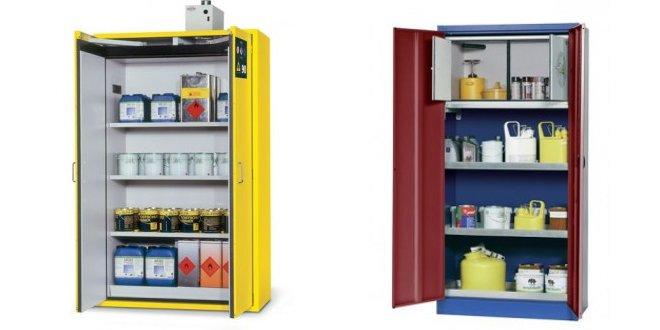 Consejos para el almacenamiento de productos químicos