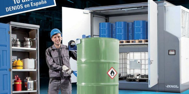Catálogo DENIOS 2015: Almacenamiento de productos químicos