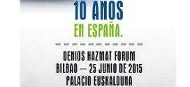 "Próxima Jornada Técnica en Bilbao,  ""DENIOS HazMat ForuM"""