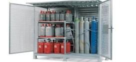Armarios y almacenes para bombonas de gas