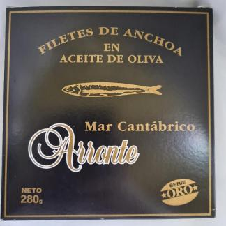 anchoas arronte 280grs