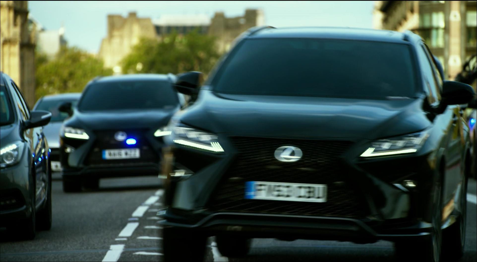 Black Lexus RX Cars in Transformers 5 The Last Knight 2017