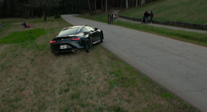 Lexus Lc Car In Superfly 2018 Movie