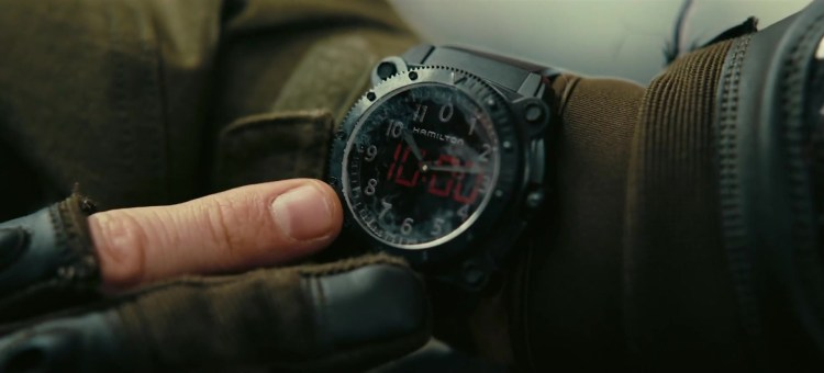 Hamilton Khaki Navy BeLOWZERO Watch Of Aaron Taylor ...