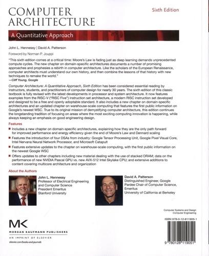 Computer Architecture A Quantitative Approach John Hennessy Livres Furet Du Nord