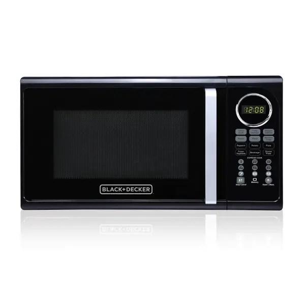 9 cu ft 900w microwave