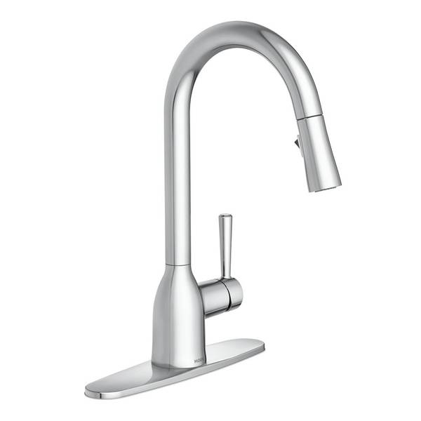 adler pull down kitchen faucet