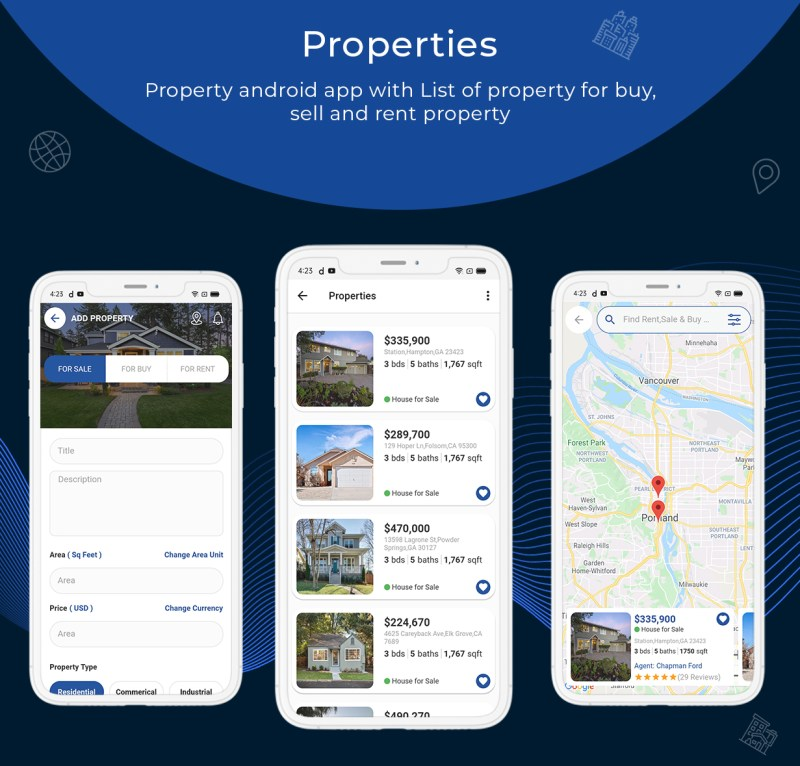onProperty - Real Estate App Template for Flutter (Android and IOS) - 4