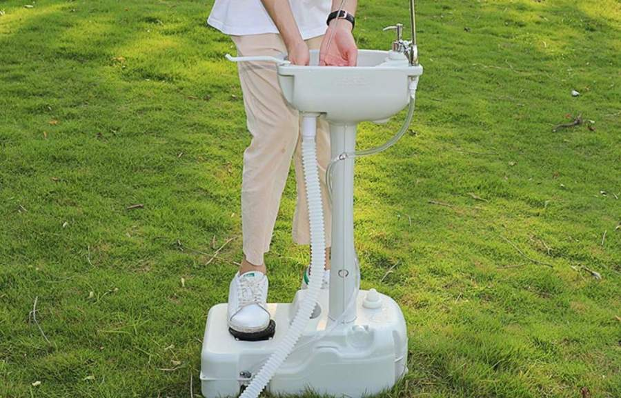 rated portable outdoor sinks for camping