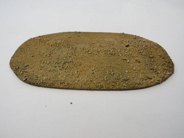 "Medium Baseboard desert textured 10x6"""
