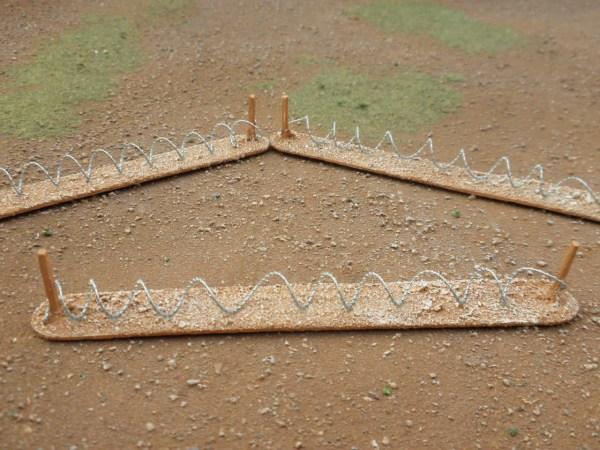 Barbed Wire 15-20mm Desert