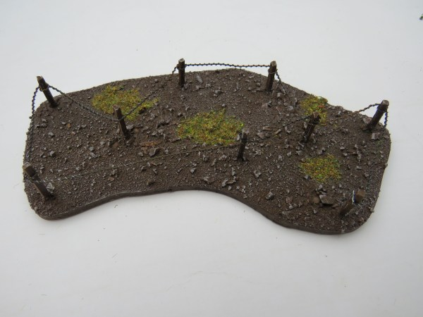 WW1 Barb Wire corner