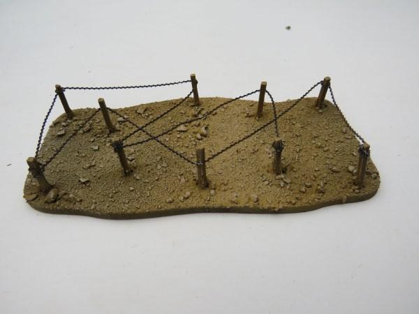 WW1 Barb Wire  desert