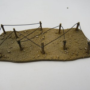 WW1 Barb Wire  desert