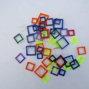 acrylic dice rings