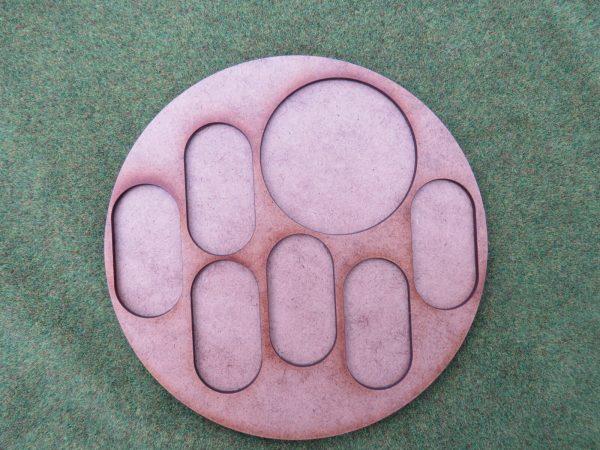 irregular bolt action movement tray