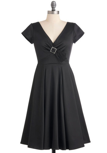 Quintessence of Style Dress in Black