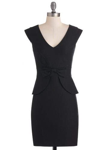 Panel Moderator Dress in Black
