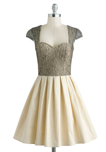 Glimmer and Dancing Dress from ModCloth