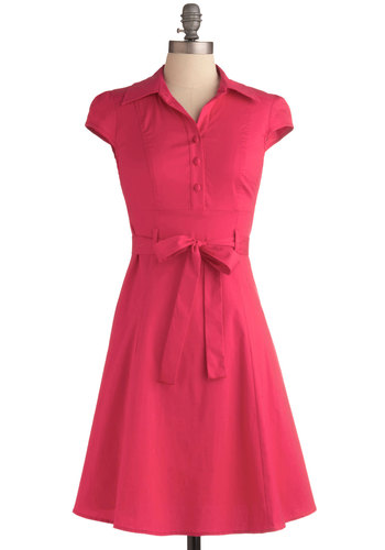Soda Fountain Dress in Pink from ModCloth - $44.99 #affiliate