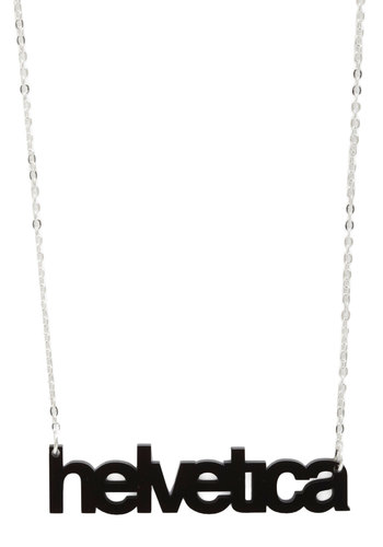 Font-tastic Necklace from ModCloth