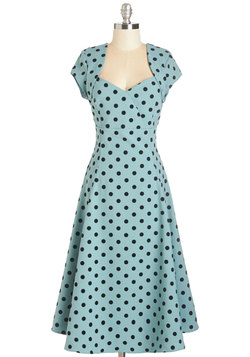1950s Fashion - Small Business Spotlight Dress in Dots
