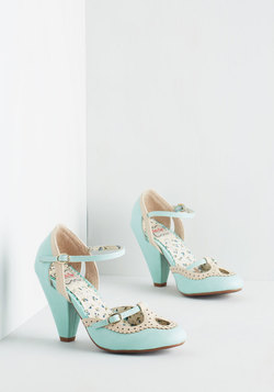 Triple Your Fancy Heel in Mint