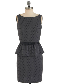 Editor's Pick Dress, peplum dress, business clothes for women
