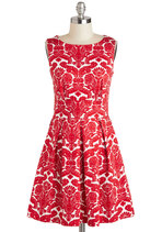 Dresses - Ain't We Haute Fun? Dress in Floral Flourish