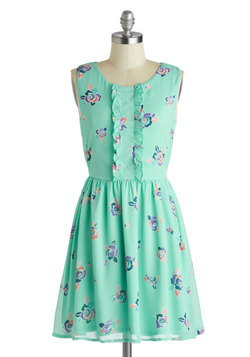 Summer Spritzer Dress, Modcloth