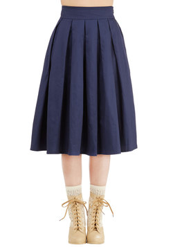 Pleat the Way Skirt