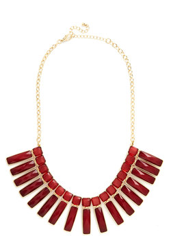 take nothing for pomegranate necklace (modcloth)