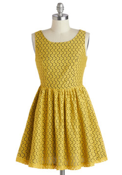 For Gold Time's Sake Dress, Modcloth