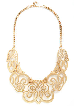Twice Gold Tales Necklace