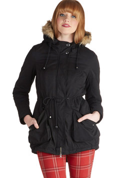scooter or later coat in black (modcloth)