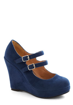 host of all wedge (modcloth)