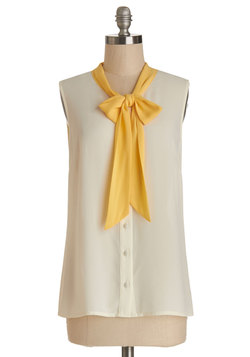madison aptitude top in creme (modcloth)