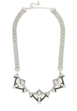 nothing short of chic necklace (modcloth)