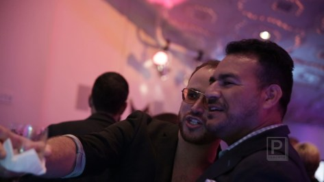 Martin Rubio and Kyle Kofsky at TIFF and Inside Out's GET BENT! for World Pride 2014