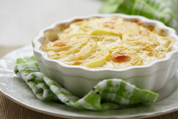 Tartiflette với thịt xông khói và khoai tây