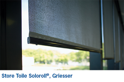 soloroll ii store toile interieur