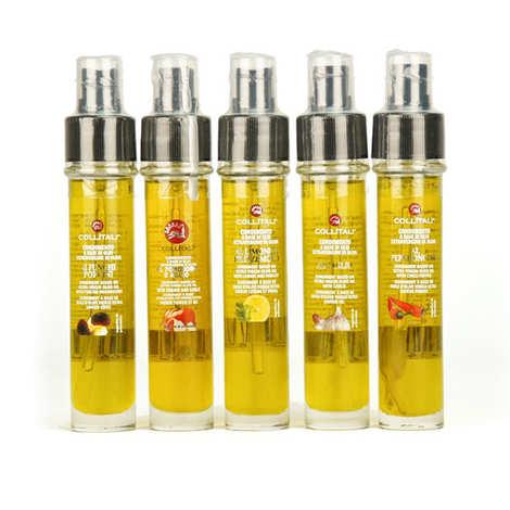 recharge et vaporisateur huile d olive italienne plusieurs aromatisations