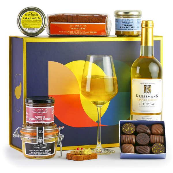 foie gras gourmet gift box bienmanger